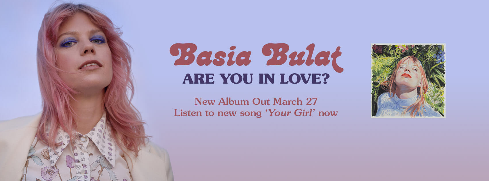 Basia Bulat Are You in Love vinyl order shop secret city records