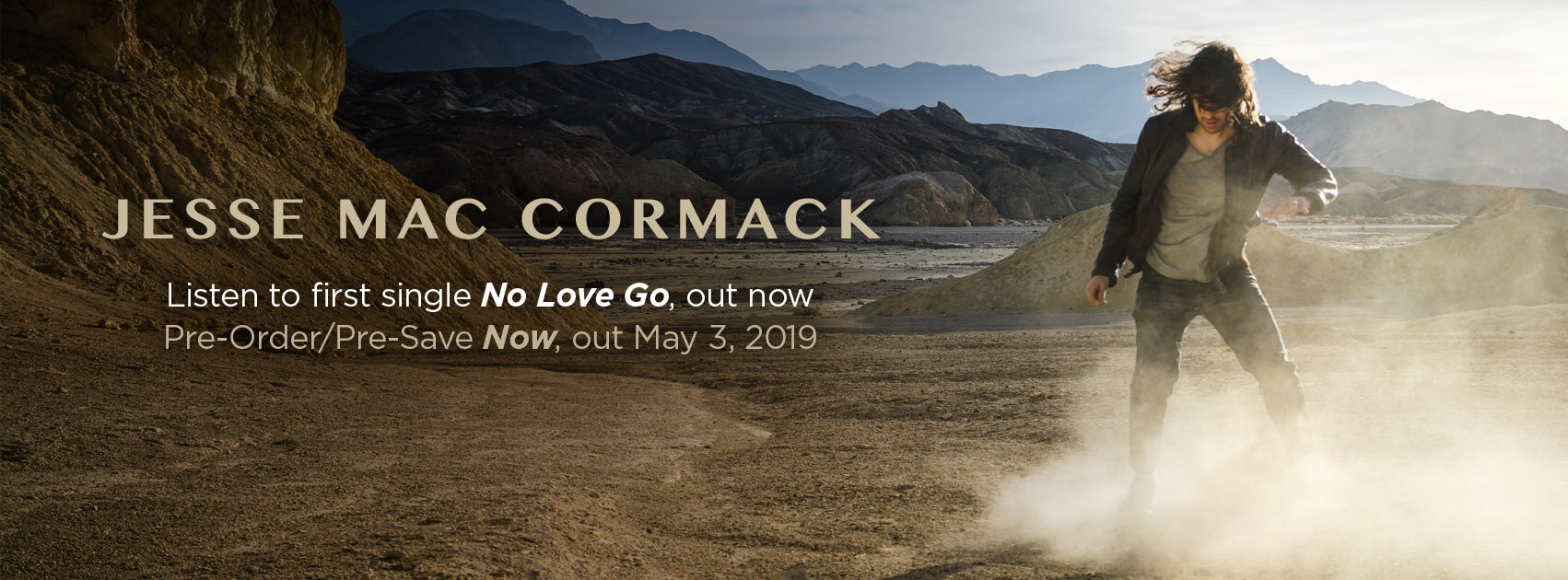 Jesse Mac Cormack - no love go - now