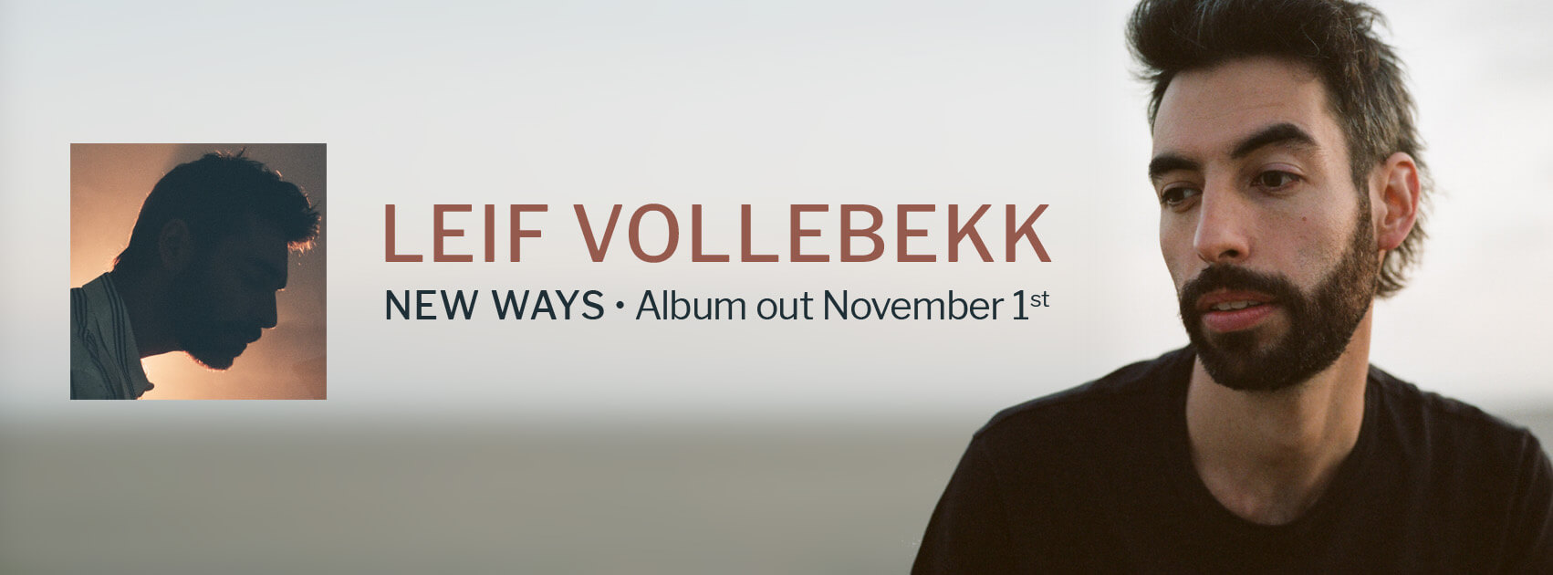 Leif Vollebekk New Ways
