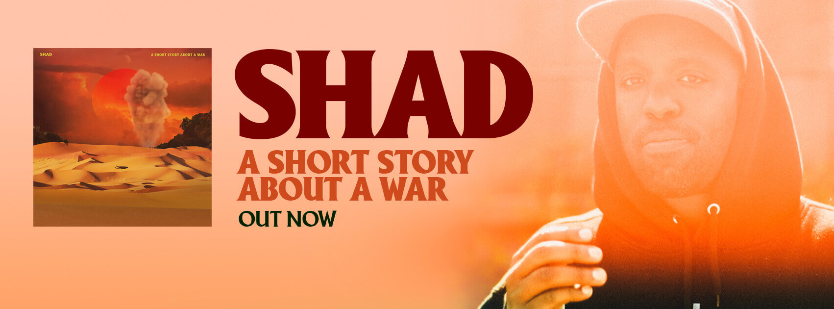 Shad A Short Story About A War out now